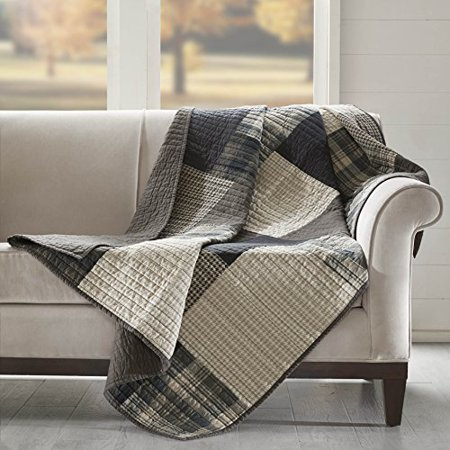 "Woolrich WR50-1786 Winter Hills Quilted Throw 50x70"" Tan,50x70"" - image 2 of 3"