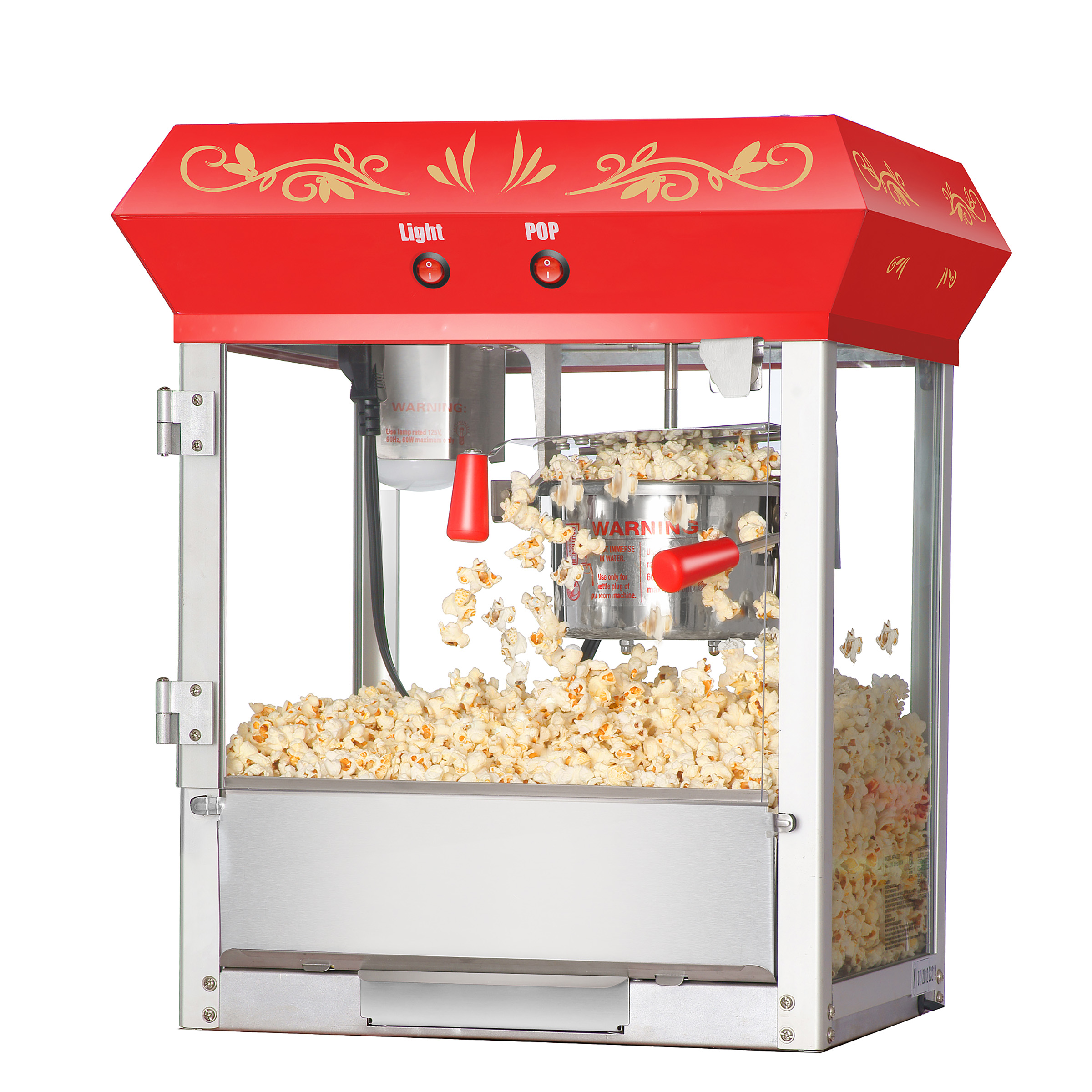 Foundation Top Popcorn Popper Machine, 4 Ounce by Great Northern Popcorn