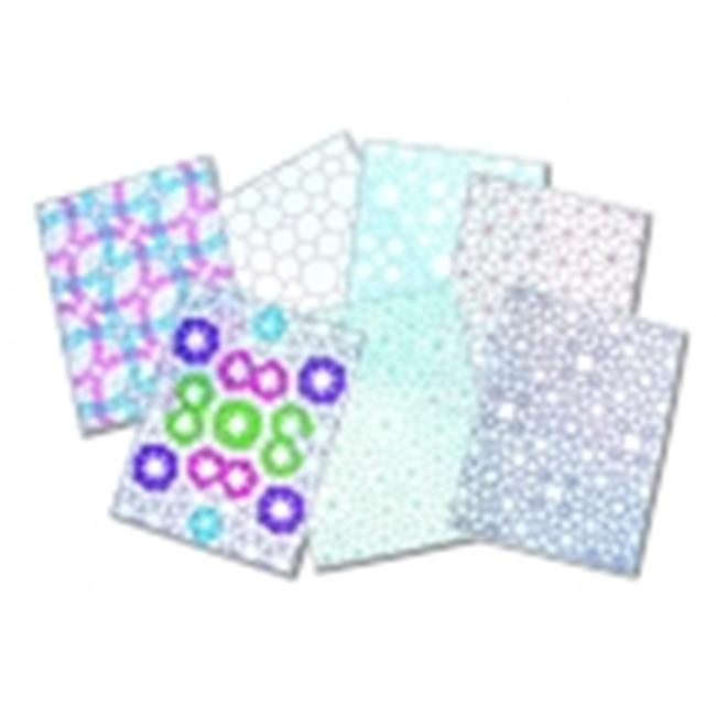 Roylco 8.5 x 11 in. Semi-Transparent Vellum Like Tessellations Glassine Paper, Pack - 24
