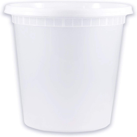 DELAN 100PCS White Disposable