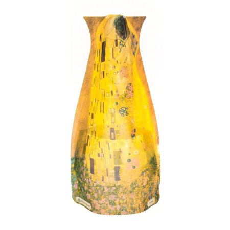Myvaz Collapsible / Expandable Flower Vase - Gustov Klimt The Kiss