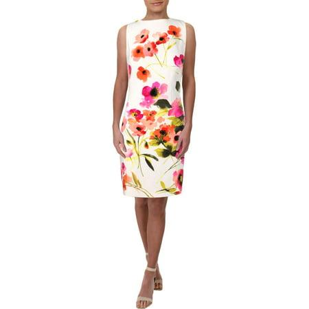 Lauren by Ralph Lauren Women's Floral Crepe Dress