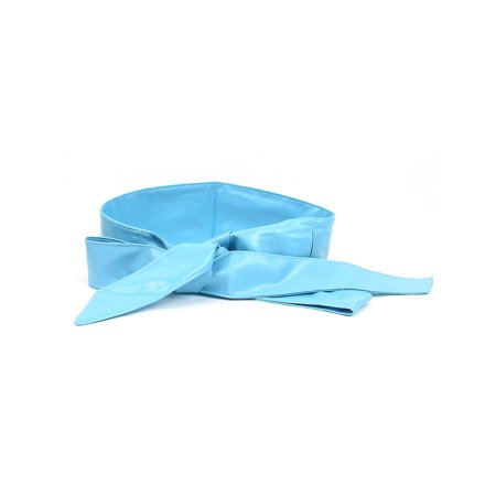Obi Sash (Women Self Tie Faux Leather Wide Obi Sash Waist Belt Wrap Band 2.2M )