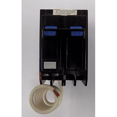 QBGF2015 QUICKLAG GROUND FAULT CIRCUIT BREAKER - TYPE QBGF - 2 POLE 120/240 VAC 15 AMP (Type Q Circuit Breaker)