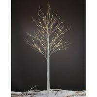 Lightshare 8FT Birch Tree with 132 warm white lights