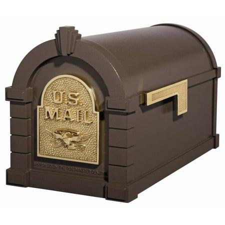 Keystone Curbside Mailbox - BRZ/Eagle Gaines Keystone Series Mailbox