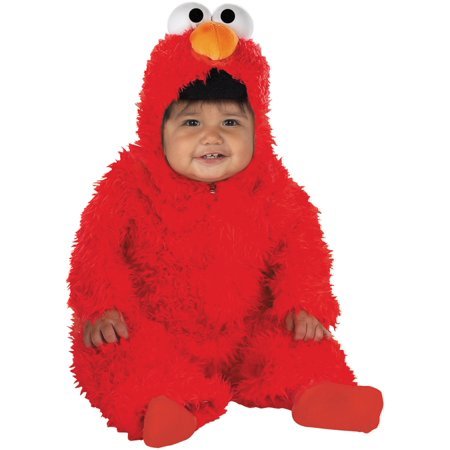 Elmo Plush Deluxe Infant Costume](Elmo Costume Rental)