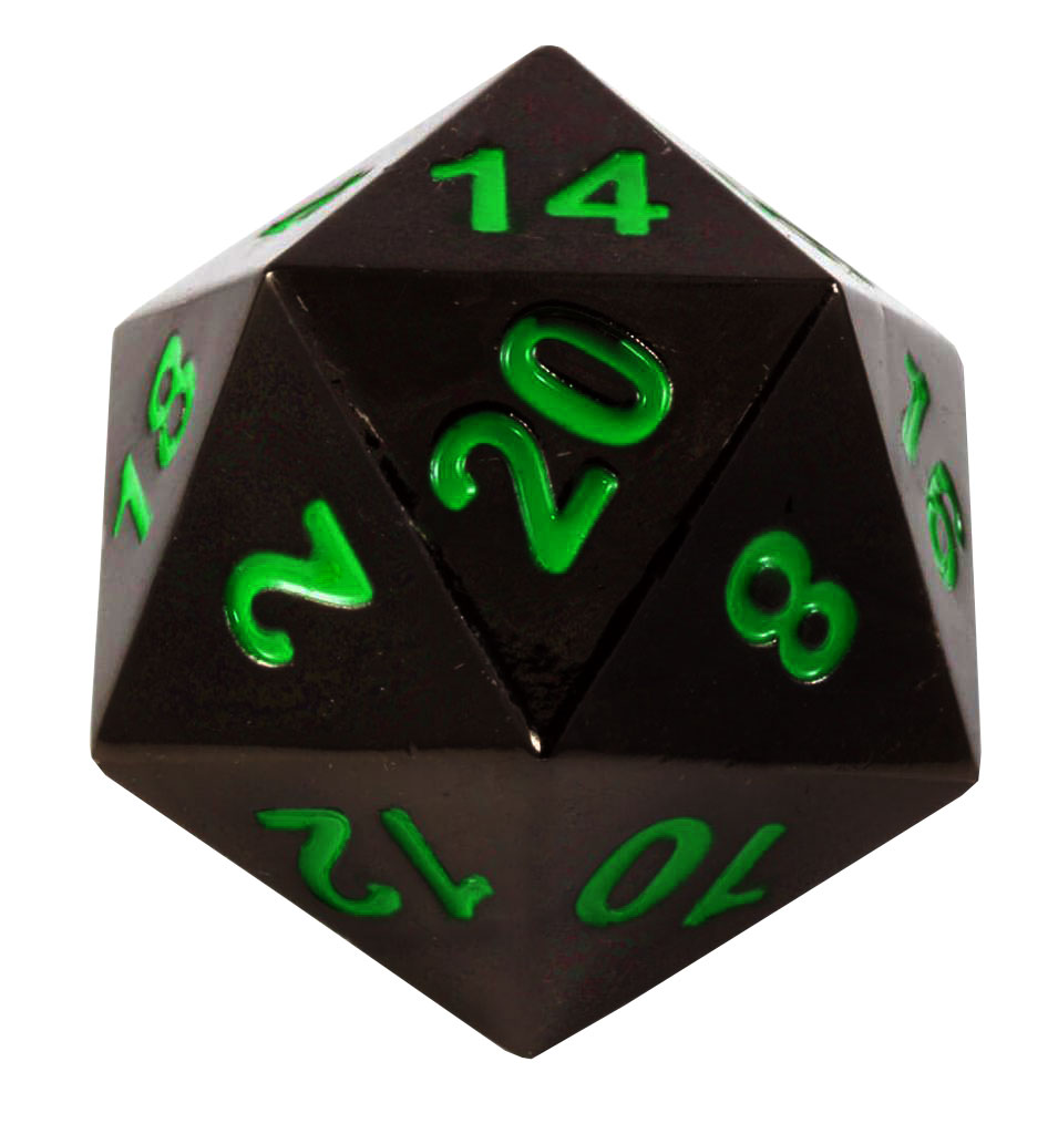 Norse Foundry 45mm Full Metal D20 Boulder Dice Poisoned Daggers Walmart Com Walmart Com Happy birthday gary gygax, may there be plenty of natural d20s today! walmart com