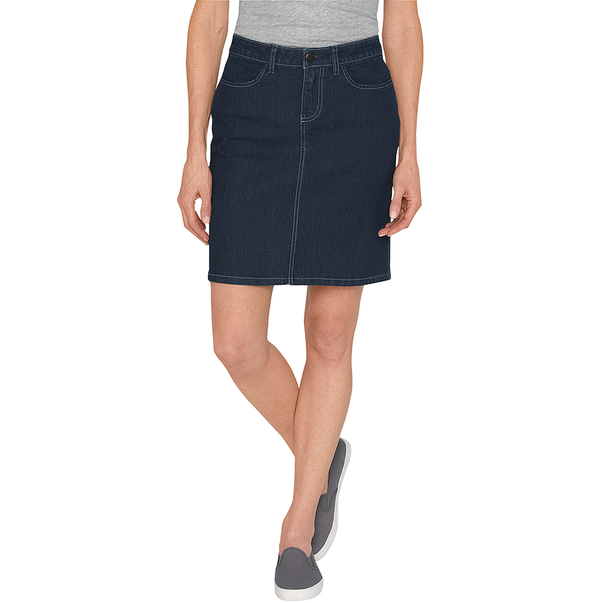 Genuine Dickies Women's Denim Skirt - Walmart.com