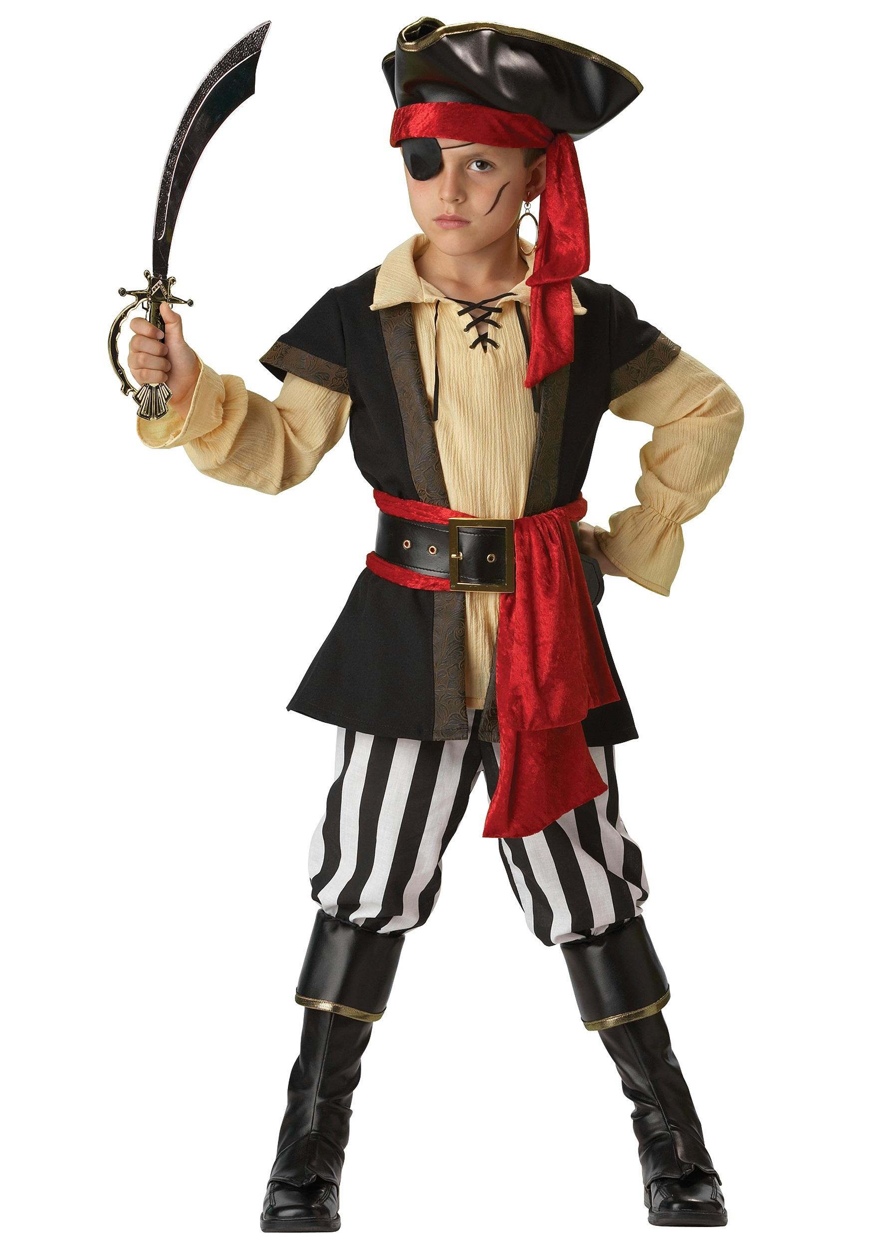 eb0002edc Kids Scoundrel Pirate Costume