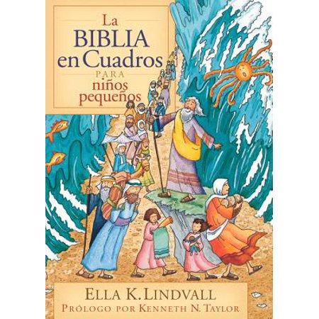 La Biblia en Cuadros Para Nino Pequenos (Hardcover)