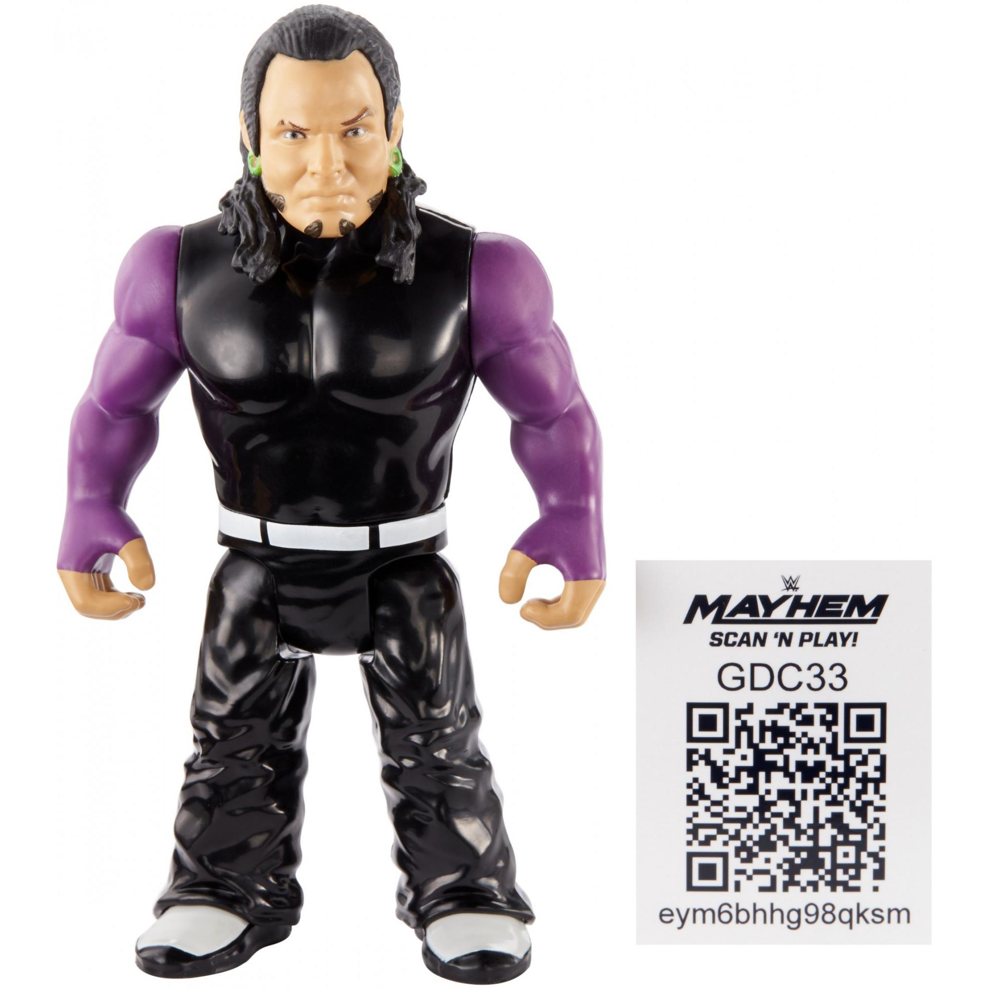 WWE Jeff Hardy Retro App Action Figure