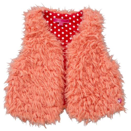 CakeWalk Baby Girls Peach Basia Gilet 9-18M