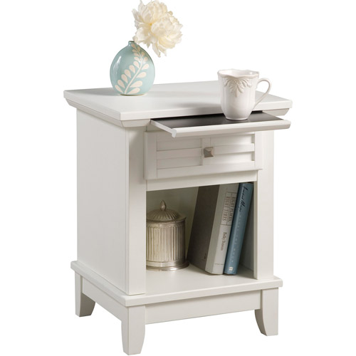 Home Styles Arts & Crafts 1 Drawer Nightstand White by Generic