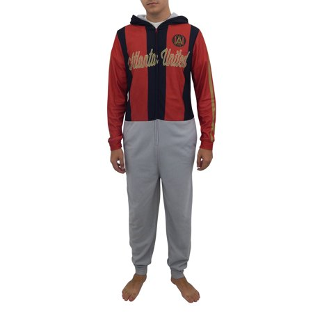 new style 56166 97f15 Atlanta United FC Union Suit Warm Up Uniform Pajamas
