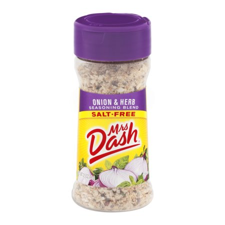 - (3 Pack) Mrs. Dash Onion & Herb Salt-Free Seasoning Blend 2.5 Oz
