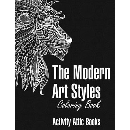 The Modern Art Styles Coloring Book