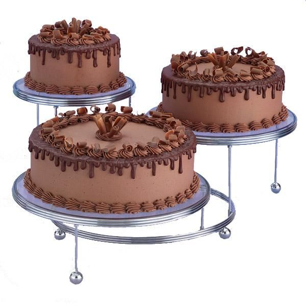 Wilton Cakes-N-More 3-Tier Party Cake Stand