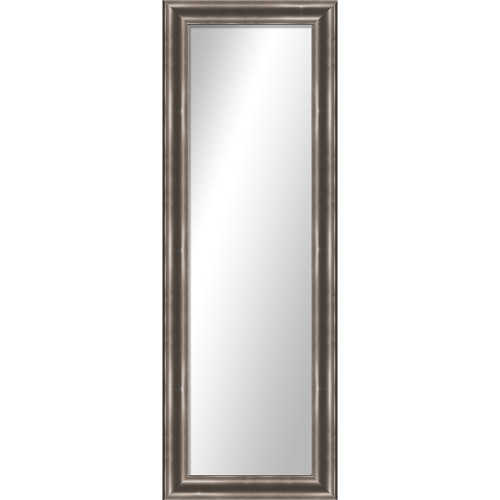 "Montebello Silver Full Length Over the Door Mirror 17.25"" x 53.25"" by PTM Images"
