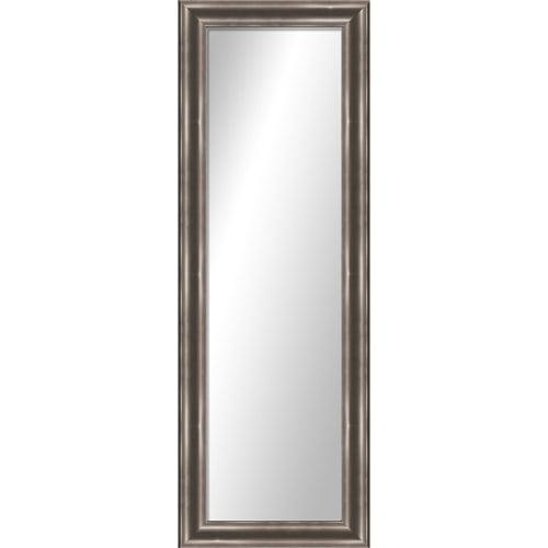 """Montebello Silver Full Length Over the Door Mirror - 17.25"""" x 53.25"""