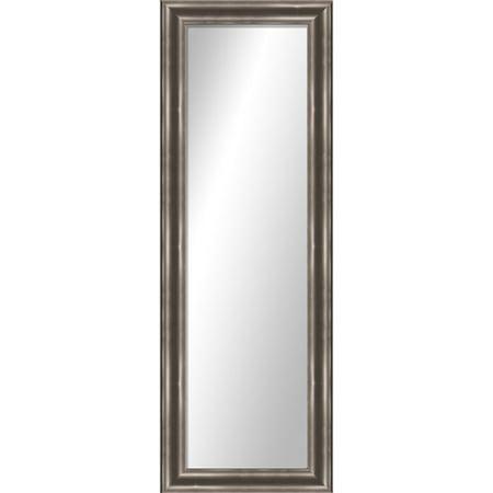 montebello silver full length over the door mirror x. Black Bedroom Furniture Sets. Home Design Ideas