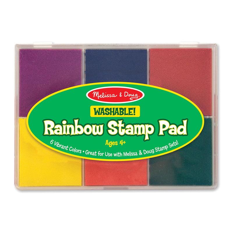 Kids Craft Rainbow Stamp Pad Horizon Group USA 21091