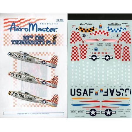 Aero Master Decals 1:72 86th FBG Thunderjets Pt. II #72-196