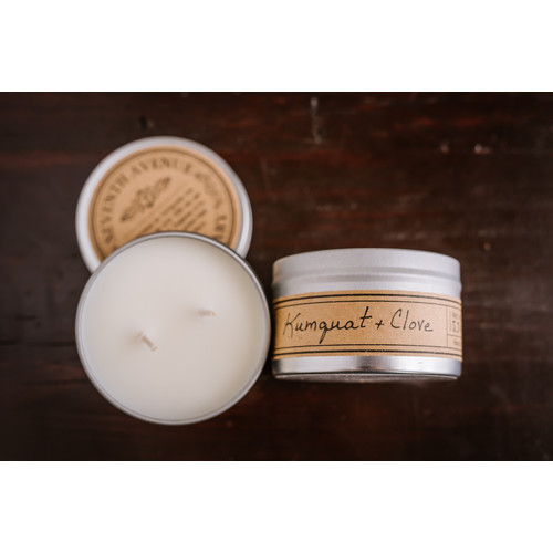 Seventh Avenue Apothecary Kumquat and Clove Soy Scented Jar Candle (Set of 4)