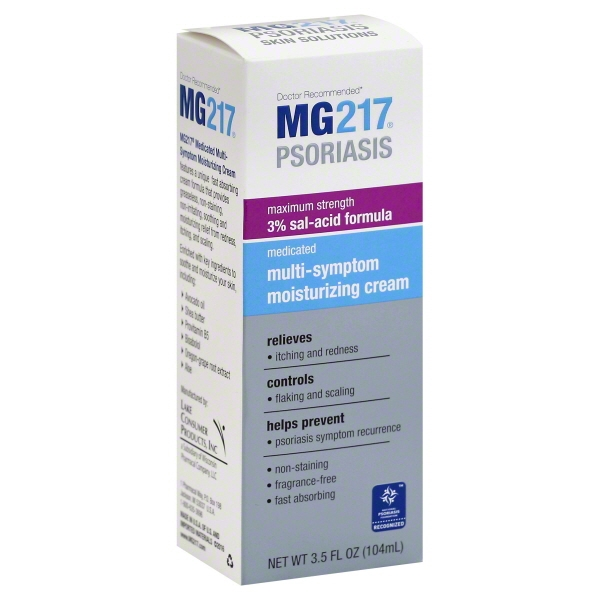 MG217 Psoriasis Medicated Multi-Symptom Cream 3.5 oz