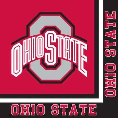 Ohio State Buckeyes Lunch Napkins , 4PK