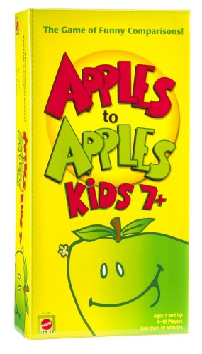 Apple To Apples Kids 7 Plus The Game of Crazy Comparisons, Controllers Wireless ALL New TV... by