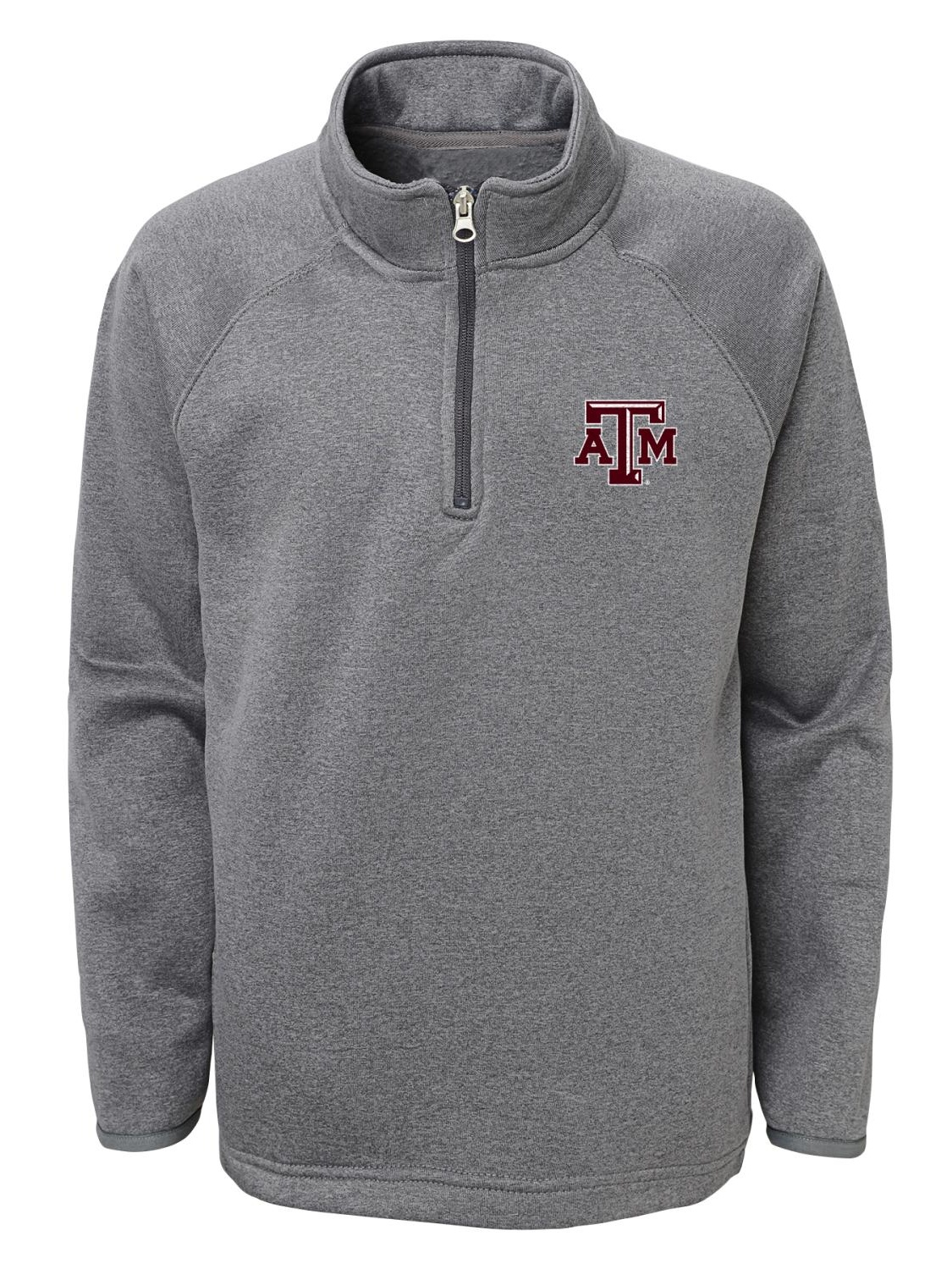 "Texas A&M Aggies NCAA ""Basics"" Men's 1 4 Zip Pullover Track Jacket by Gen2"