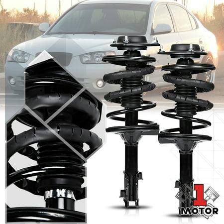 Front L+R Strut Assembly Shock Absorber Suspension Coil Spring for 00-06 Elantra 01 02 03 04 05