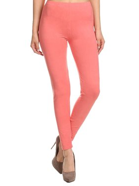 Emmalise Women's Layering Leggings Cotton Blend Bottom Pants