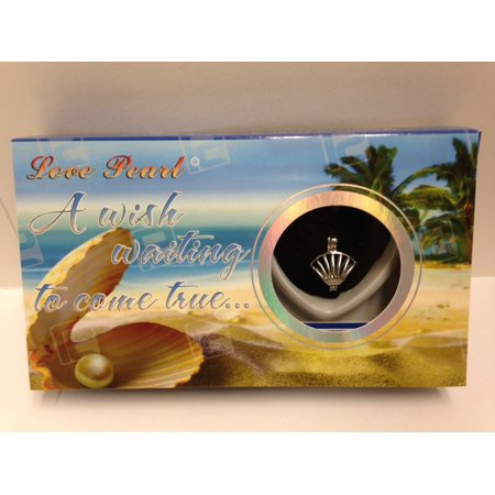 - Love Wish Purity Pearl Kit w/ Pendant Necklace Gift Box Seashell