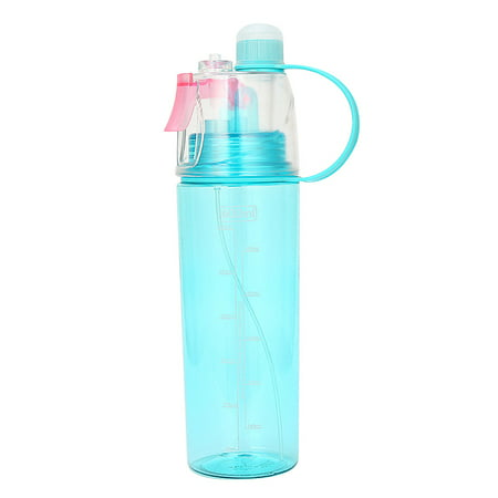 Aluminum Drinking Bottle - Sport Cycling Mist Spray Water Gym Beach Bottle Leak-proof Drinking Cup