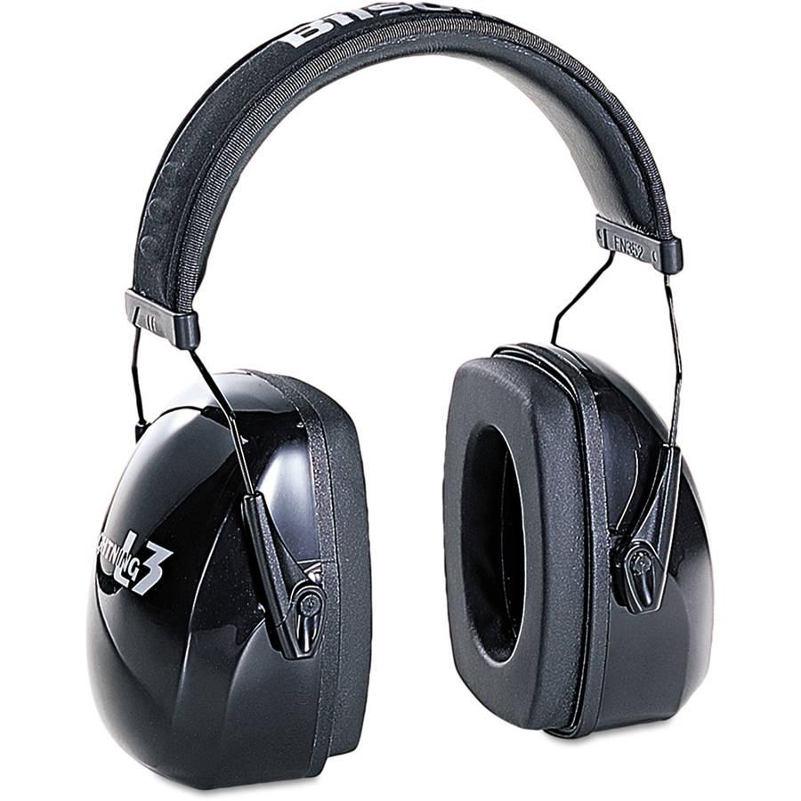 Howard Leight by Honeywell - Leightning L3 Noise-Blocking Earmuffs, 30NRR, Black