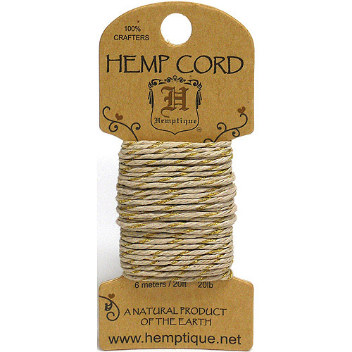 Hemp Metallic Cord, 20#