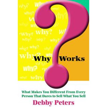 WhyWorks™: What Makes You Different From Every Person That Dares to Sell What You Sell - eBook (Stores That Sell Pinatas)