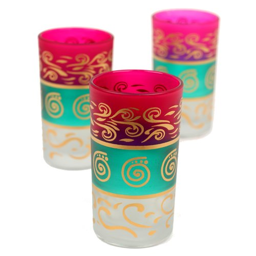 Casablanca Market MOroccan Berber Tea Glass (Set of 6)