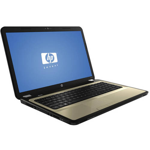 """HP Refurbished Butter Gold 17.3"""" Pavilion g7-1139wm Laptop PC with Intel Core i3-370M Processor, 4GB Memory, 500GB Hard Drive and Windows 7 Home Premium"""
