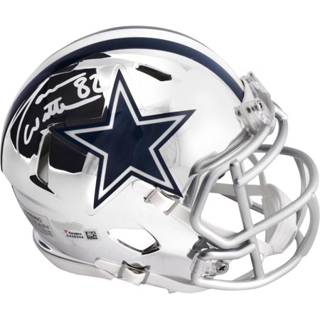 Jason Witten Dallas Cowboys Autographed Riddell Chrome Alternate Speed Mini Helmet - Fanatics Authentic Certified ()