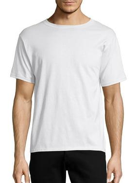Hanes Men's and Big Men's Ecosmart Short Sleeve Tee, Up To Size 3XL