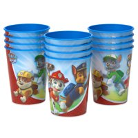 American Greetings Paw Patrol Party Supplies, 16oz. Reusable Plastic Party Cups, 12-Count