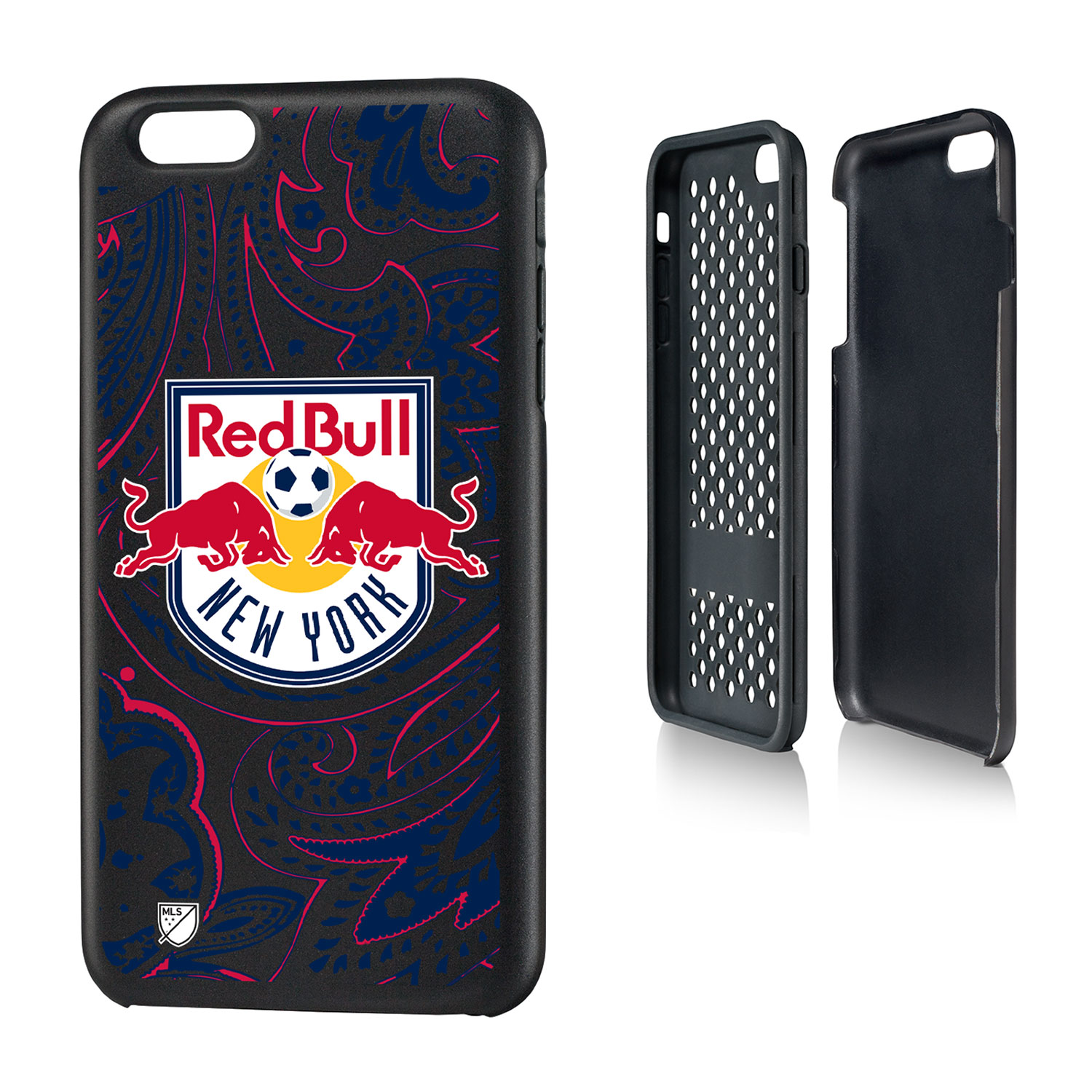 New York Red Bulls RED BULLS Paisley Rugged Case for iPhone 6 Plus