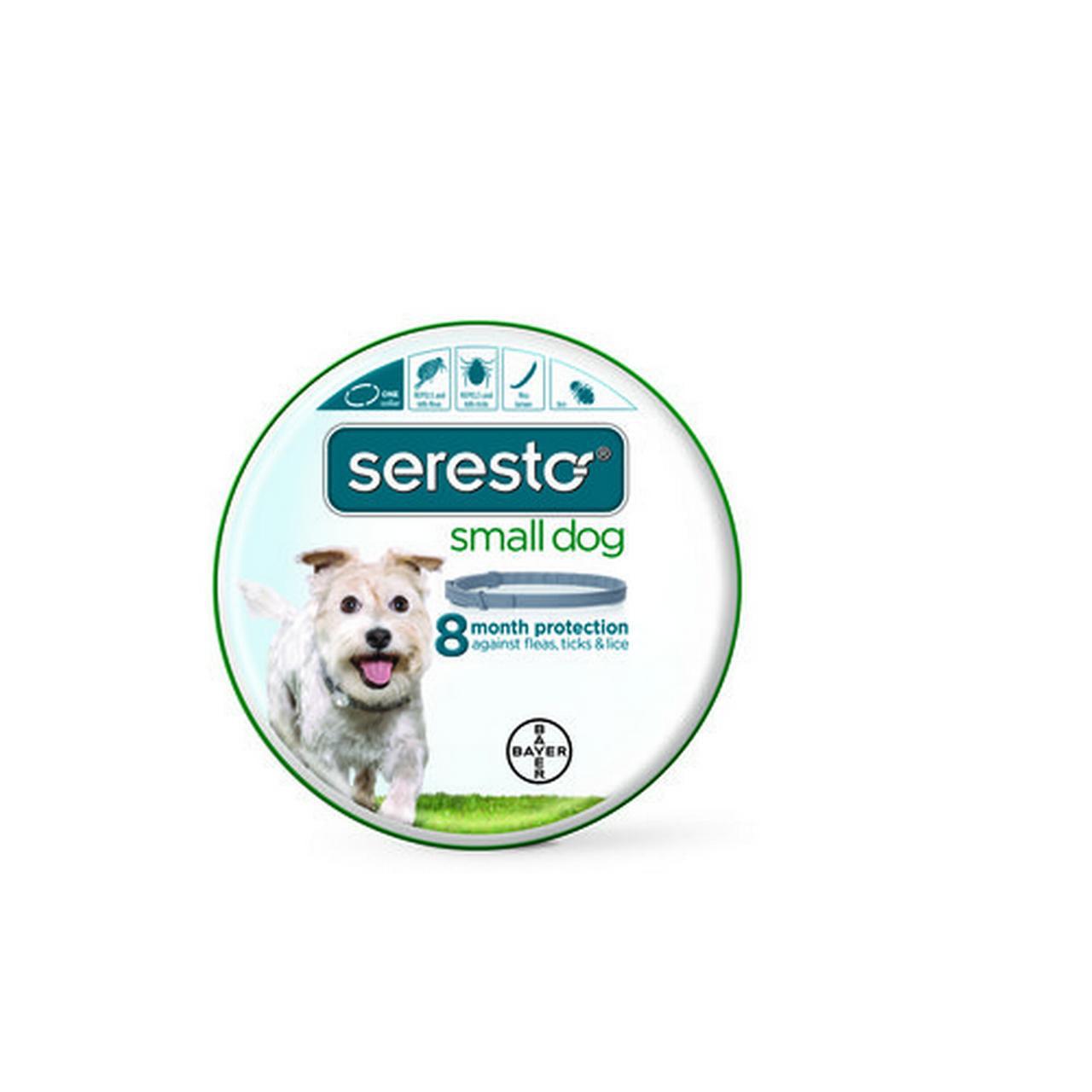 Bayer Seresto Flea and Tick Collar, Small