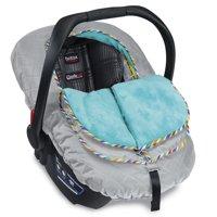 Britax B-Warm Insulated Infant Car Seat Cover - Arctic Splash
