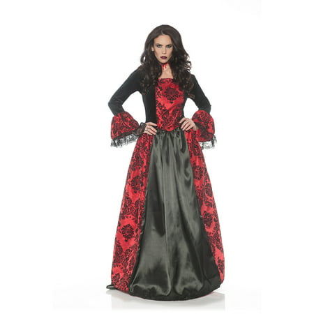 Eternity Womens Adult Vampire Mistress Halloween Costume](Pretty Halloween Makeup Vampire)