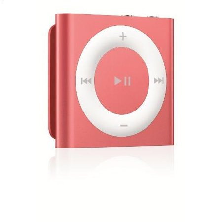 Apple iPod shuffle 2GB Pink 4th Generation (Silver Ipod Touch 4th Generation)