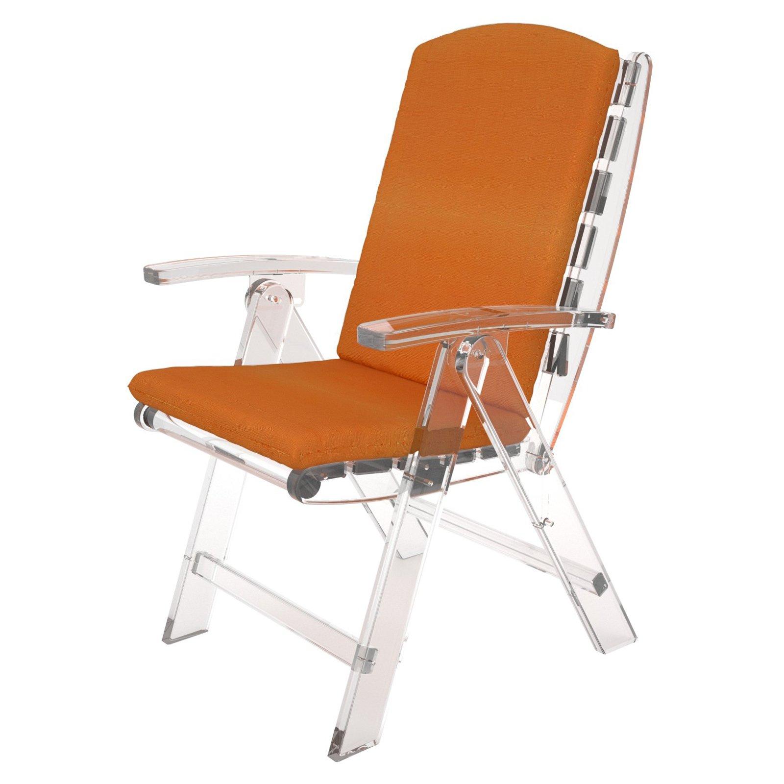 Trex Outdoor Furniture Sunbrella 40.25 in. Hinged Full Chair Cushion
